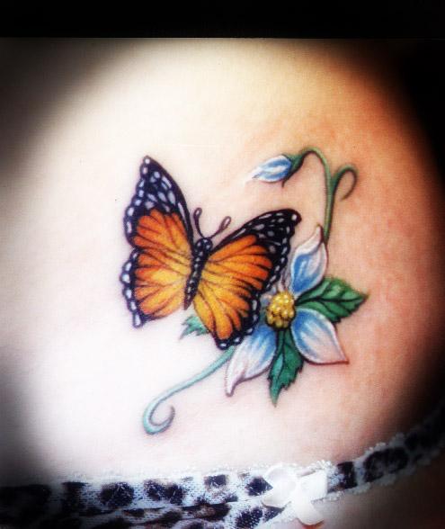 Tatuajes mariposas - Moskitotattoos